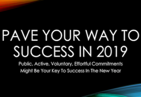 PAVE Your Way to Success in 2019!