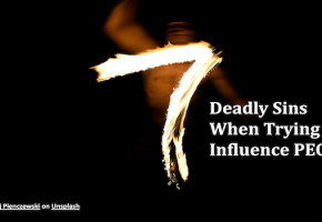 7 Deadly Sins When Trying to Influence PEOPLE