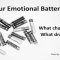 What Charges and Drains Your Emotional Battery?